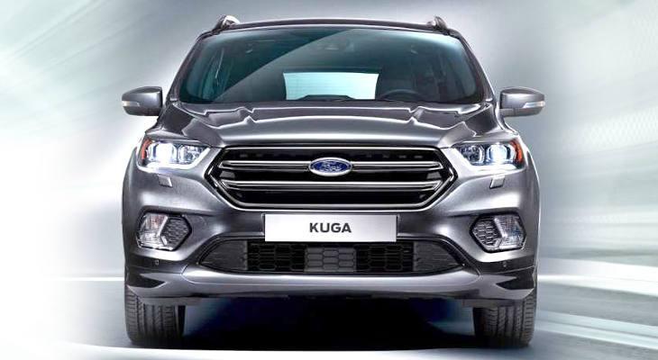 Новая модель Ford Kuga 2017 года