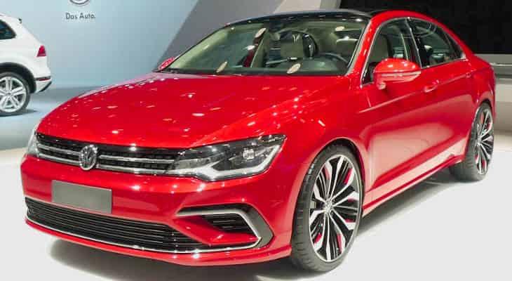 седан Volkswagen Jetta в новом кузове