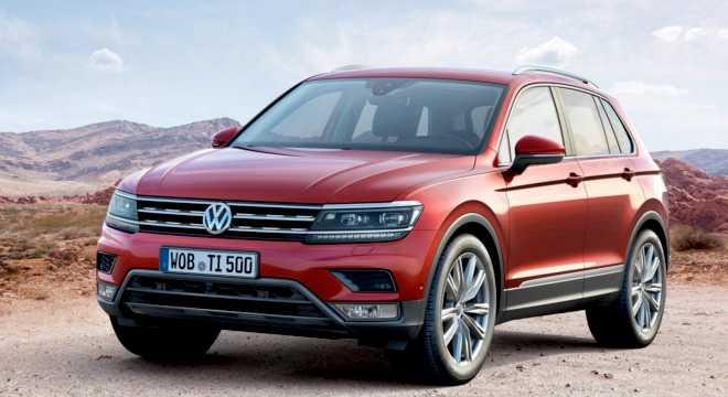 экстерьер новой модели Volkswagen Tiguan