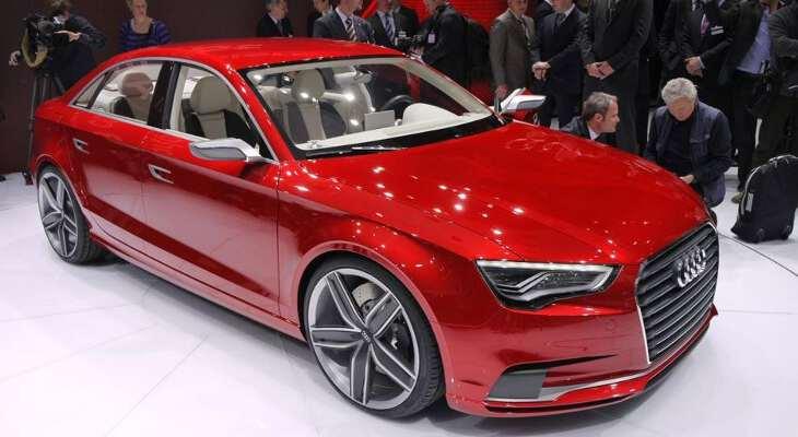 Audi a5 на автошоу