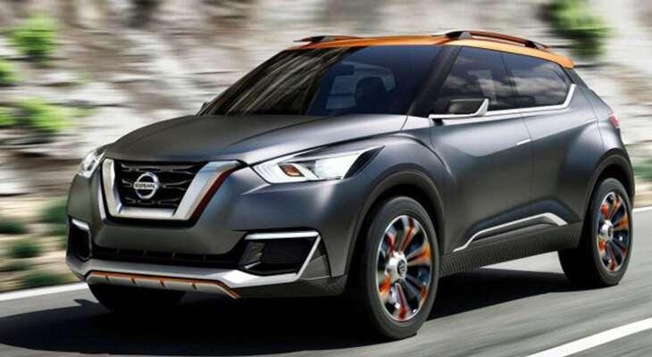 новая модель Nissan kiсks