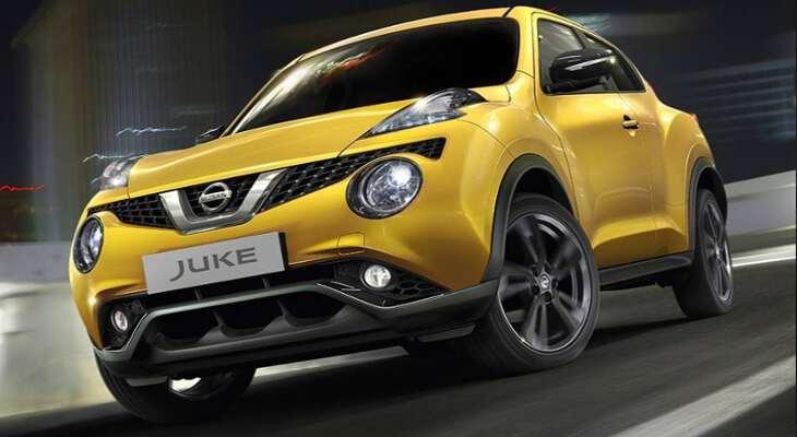 Nissan Juke на дороге