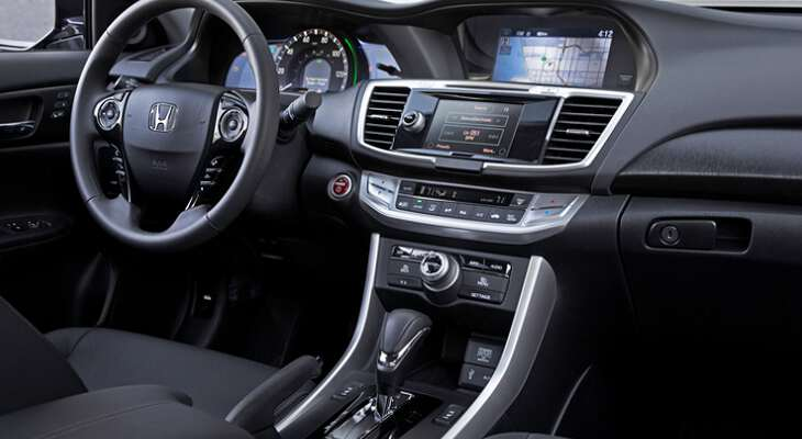 приборная панель Honda Accord 2017
