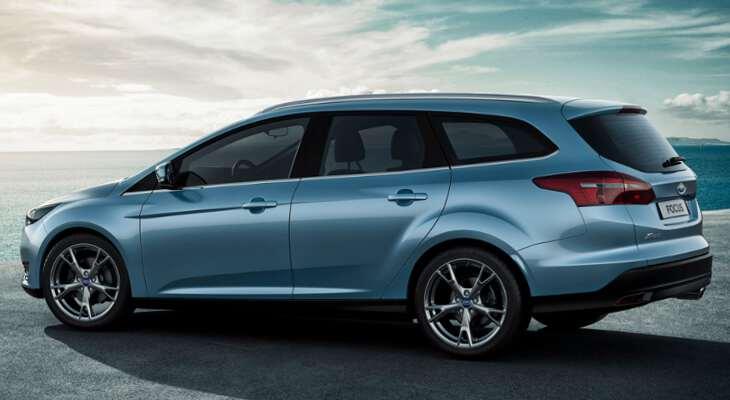 вид Ford Focus в кузове универсал
