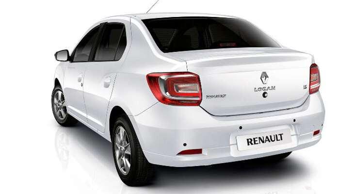 задние фары Renault Logan