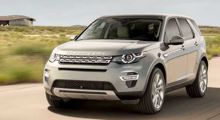 Land Rover Discovery на трассе
