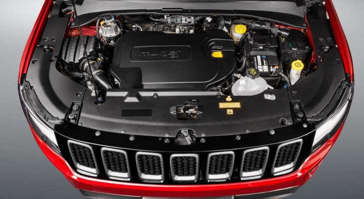 Jeep Compass 2017 вид под капотом