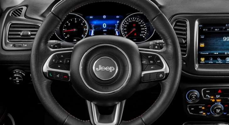 руль Jeep Compass 2017
