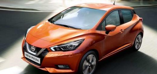 Nissan Miсra 2017 года в новом кузове