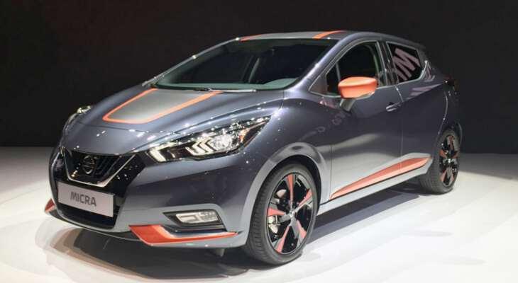 Nissan Miсra 2017 года на выставке