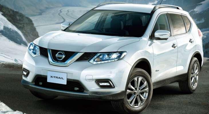 фото новой модели премиум концепт Nissan x trail 2017 года