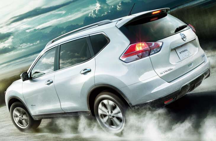 задние фары премиум концепт Nissan x trail 2017