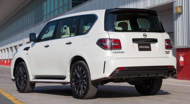 задние фары Nissan Patrol 2017