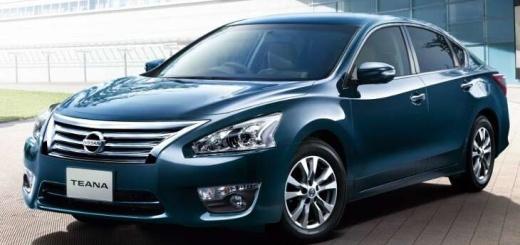 внешний вид Nissan Teana 2017 года