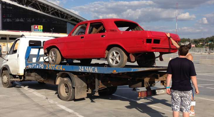 процесс утилизации старого авто