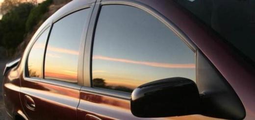 авто с затемненными стекласи